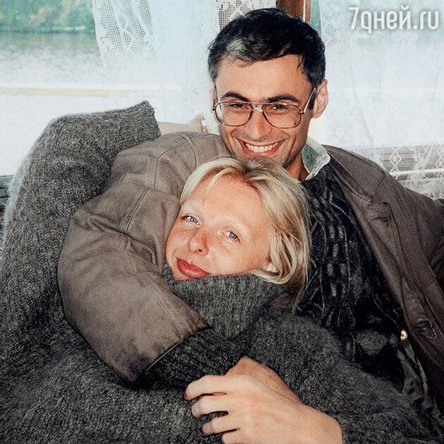 Татьяна Назарова с мужем Сандро