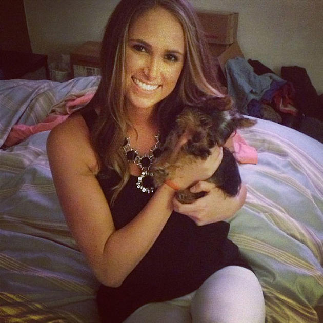 Сидни Либс любит собак