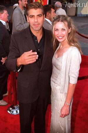 Джордж Клуни и Селин Балитран