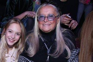 Татьяна Михалкова вывела в свет внучку