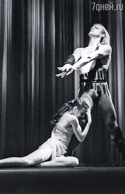 С Александром Годуновым в балете «Спартак»