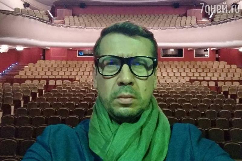 Артист  Андрей Мерзликин попал под капельницу после спектакля вНижнем Новгороде