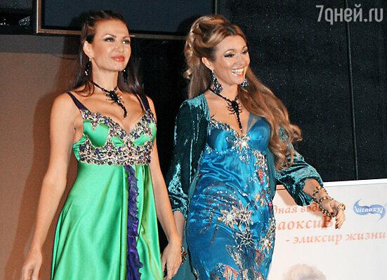 Эвелина Бледанс и Анжелика Агурбаш