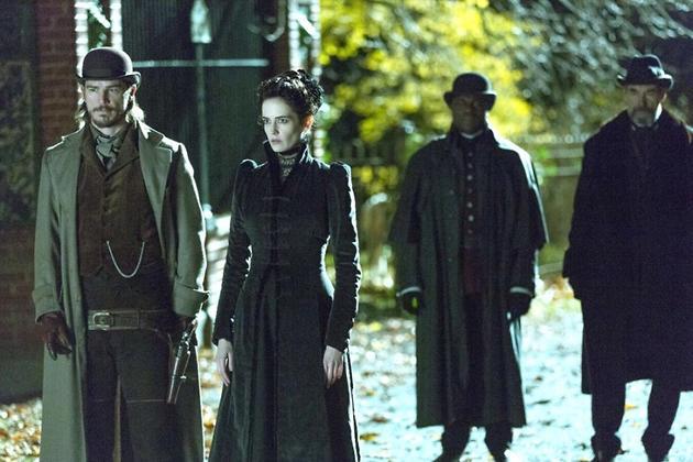 Ева Грин и Джош Хартнетт в многосерийном триллере «Страшные сказки»