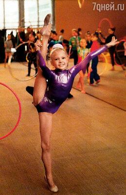 В гимнастике прочили большое будущее, но я  не выдержала нагрузки  и в 11 лет ушла