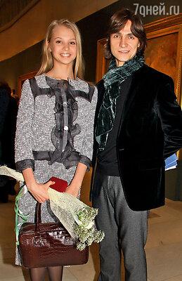 С Сергеем Юрьевичем  на церемонии вручения премии «Триумф»