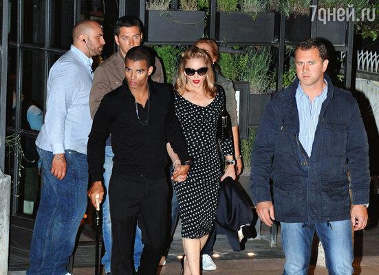 Мадонна и Браим Зеба
