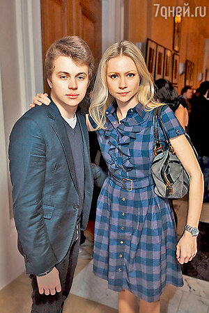 Мария  Миронова с сыном Андреем Удаловым