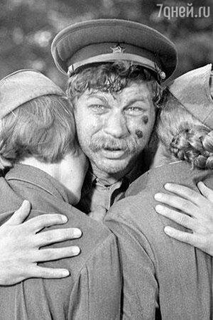 Кадр из фильма «А зори здесь тихие...». 1972 г.