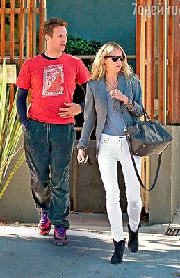 Одна из причин разрыва ГвинетПэлтроу и Криса Мартина— излишняя «правильность» актрисы иее одержимость здоровым образом жизни. 2012 г.