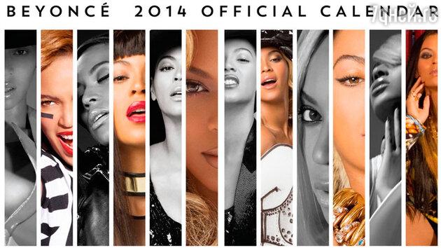 Бейонсе выпустила официальный календарь на 2014 год