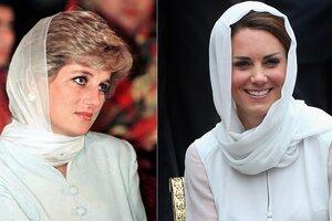 Британцы считают, что принцесса Диана одевалась лучше Кейт Миддлтон
