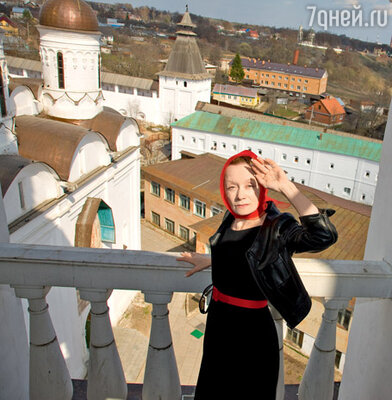 Евдокия Германова в Свято-Пафнутьевом монастыре