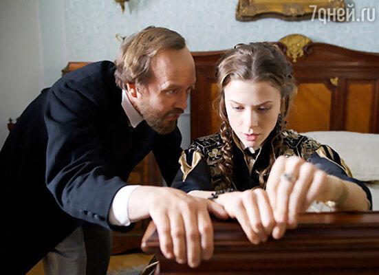 Кадр из сериала «Достоевский»