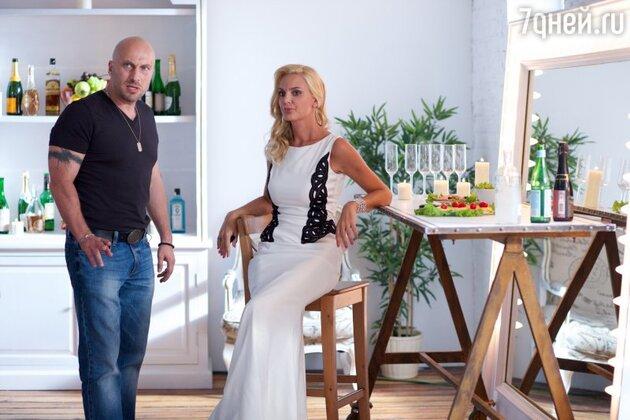 Дмитрий Нагиев и Екатерина Мельник