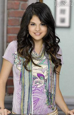 Селена Гомес в телесериале «Волшебники из Вэйверли Плэйс», 2007-2012 год