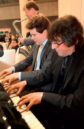 Любовь к джазу свойственна всем большим музыкантам: с Денисом Мацуевым и Игорем Бутманом, 2010 год