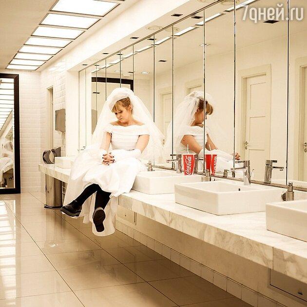 Анна  Михалкова в спектакле «Маму замуж»