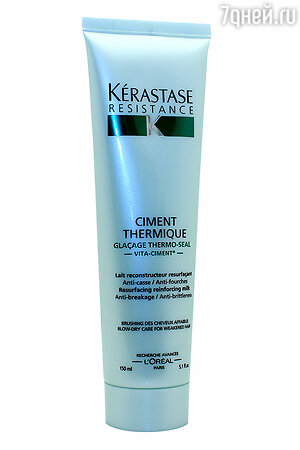 Восстанавливающее молочко для защиты и укрепления ослабленных волос Ciment Thermique, Kerastase