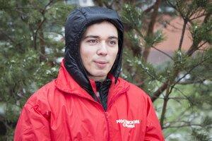 Родион Газманов и  Владимир Левкин посадили деревья в Московском зоопарке