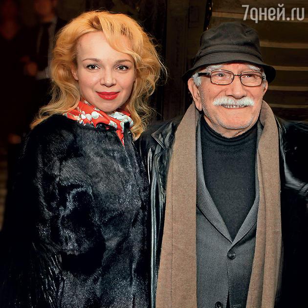 Виталина Цымбалюк-Романовская и Армен Джигарханян