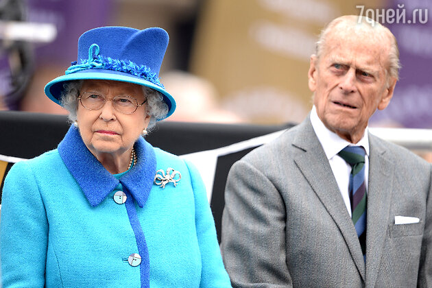 Королева Елизавета II и ее супруг, принц Филипп, герцог Эдинбургский