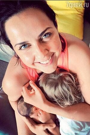 Ольга Шелест с дочерью