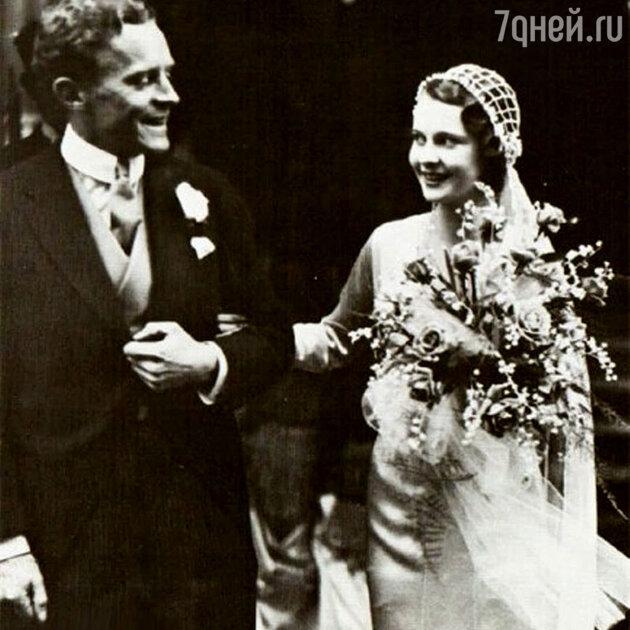 Свадьба Вивьен Ли и Герберта Ли Холмана.
