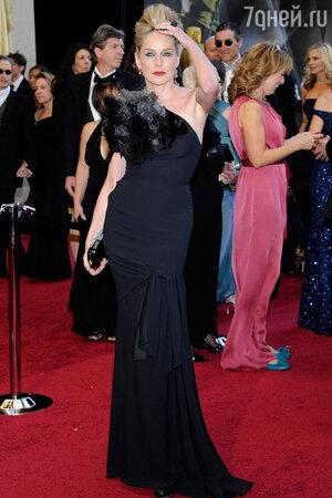 Шэрон Стоун на вручении премии Oscar, 2011 год