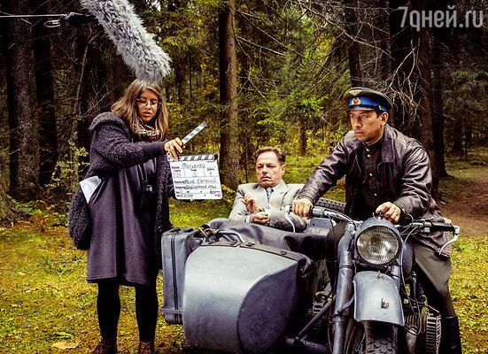 Съемки проходили вдали от Москвы, в ладожских лесах