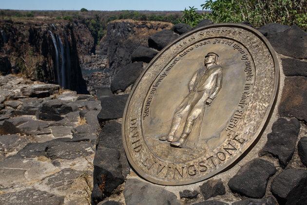 Водопад Виктория Мемориал Дэвида Ливингстона