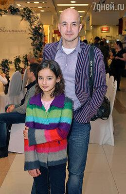 Егор Дружинин с дочерью