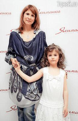 Ольга Субботина с дочерью