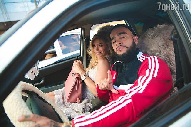 Кадр из клипа Тимати и Веры Брежневой на песню «Понты»