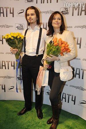 Ирина Безрукова с сыном