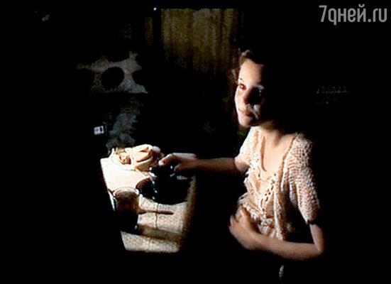 Дебют Кати в кино состоялся в знаменитом триллере «Змеиный источник». 1997 г.