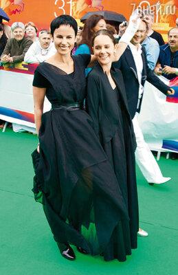 Ирина Апексимова с дочерью Дашей