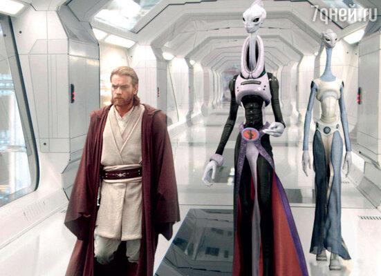 Кадр из фильма «Звездные войны. Эпизод II. Атака клонов». 2002 г.