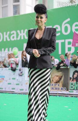 На церемонии вручения премии «МУЗ-ТВ». 2012 г.