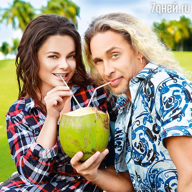 Наташа Королева с Сергеем Глушко