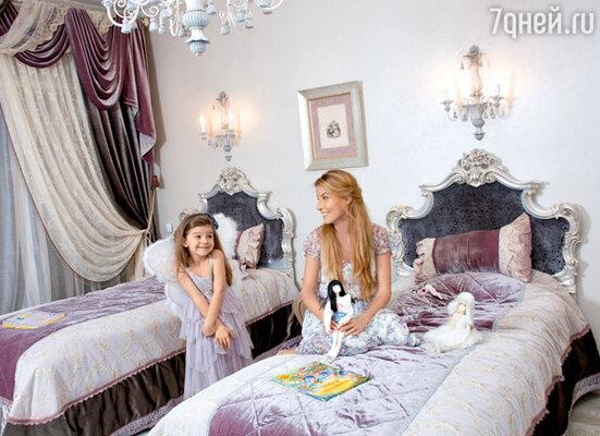 В детской спальне