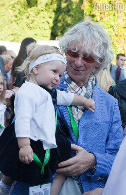 Аркадий Укупник  с дочерью Соней