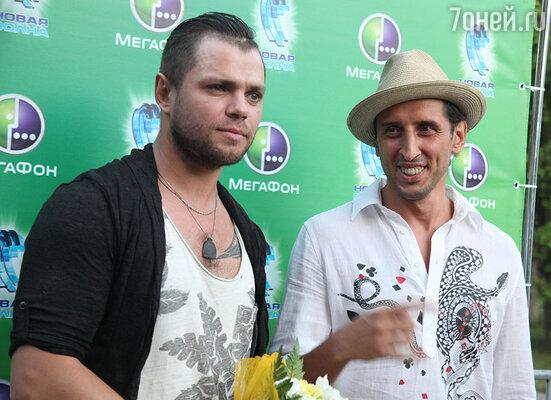 Участники группы «Градусы» Роман Пашков и Руслан Тагие