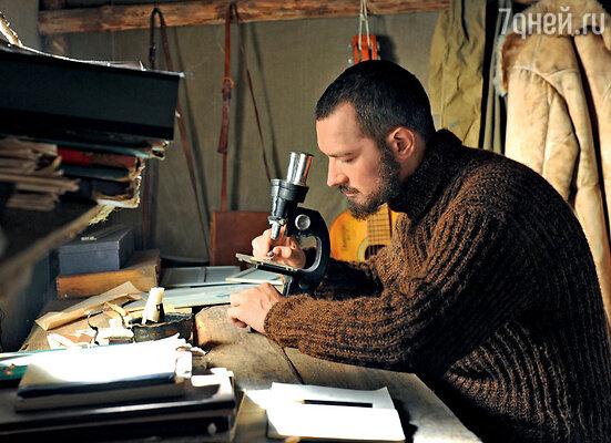 Егор Бероев на съемках фильма «Территория»