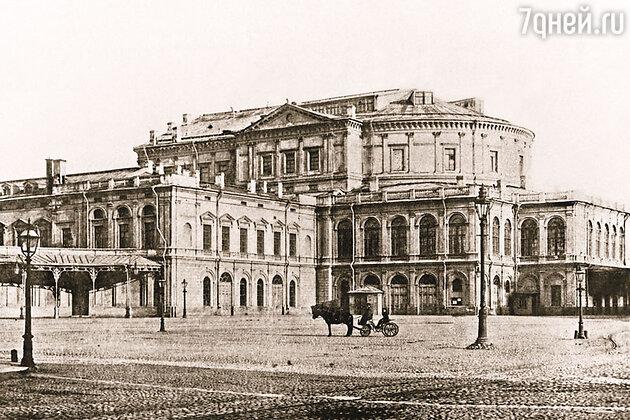 Мариинский театр. Петербург, начало XX века