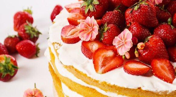 Четырехслойный клубничный торт: рецепт от кондитера Бадди Валастро
