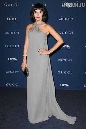 Камилла Белль в платье от Gucci, LACMA 2013