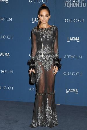 Николь Ричи в платье от Dolce&Gabbana, LACMA 2013