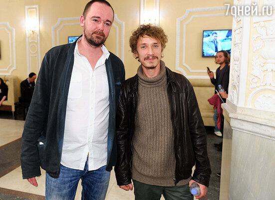 Борис Хлебников и Александр Яценко