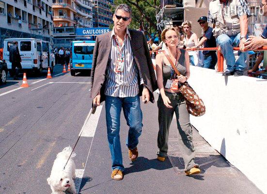 Клод Жан, французский актер, был, по словам звезды, ее «мимолетным увлечением». Монако, май 2003 г.